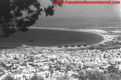 Haifa, 1932. Photo:Palestineremembered.com
