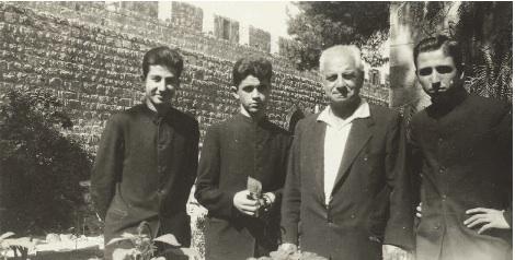 Oshagan in Jerusalem (Oshagan Family Archives)