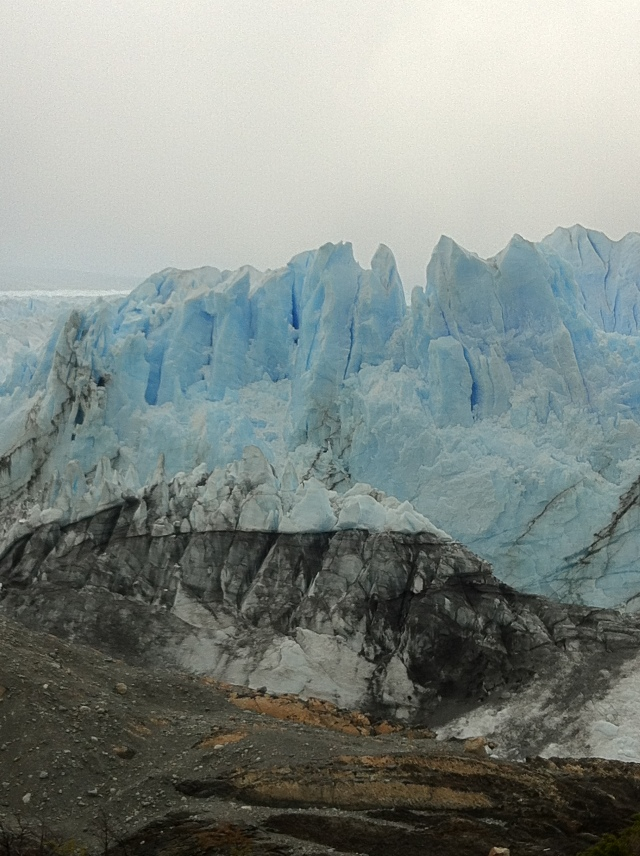 Avance!  One of the few advancing glaciers in the world, Perito Moreno.  El Calafate, Argentina.